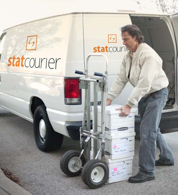 Drivers wanted! Courier service